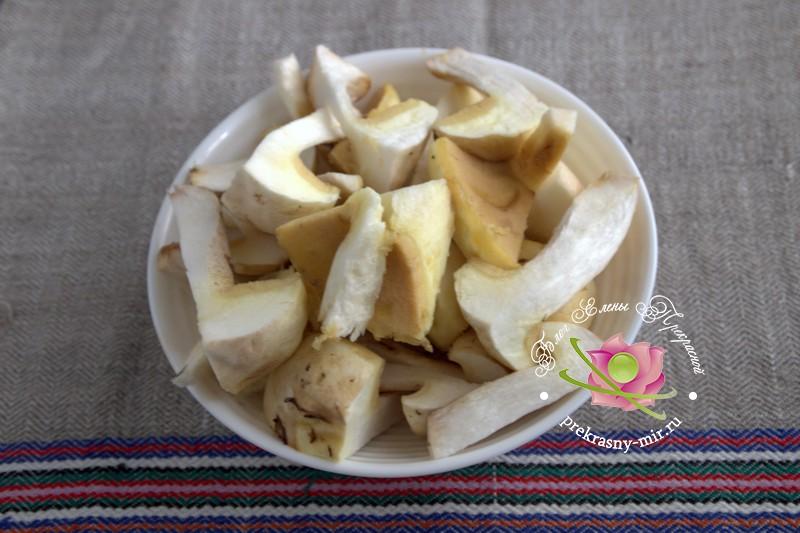 Маринованные маслята с яблочным уксусом