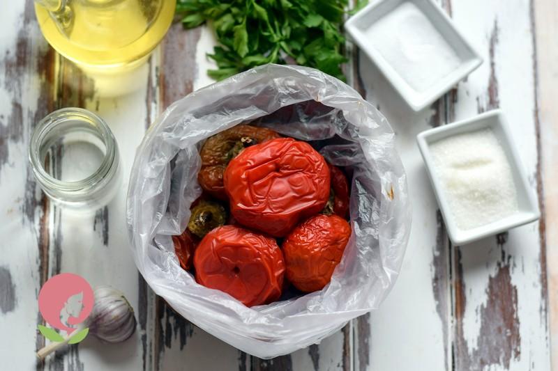 маринованный печеный перец на зиму рецепт