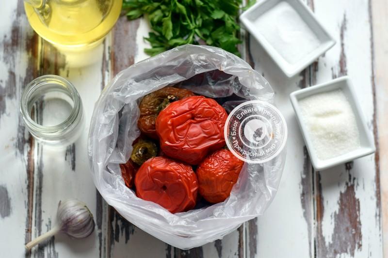 Маринованный печеный перец на зиму рецепт с фото