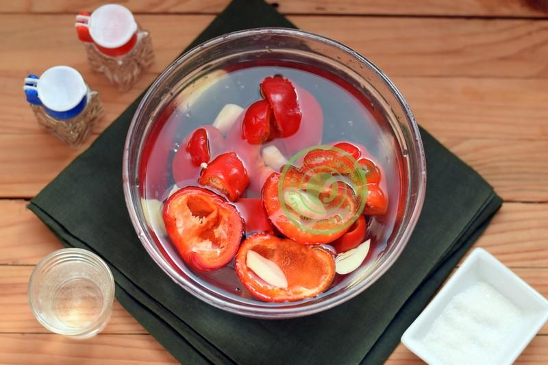 помидоры по-корейски рецепт с фото