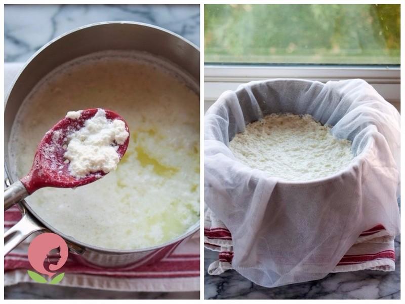 сыр рикотта рецепт в домашних условиях