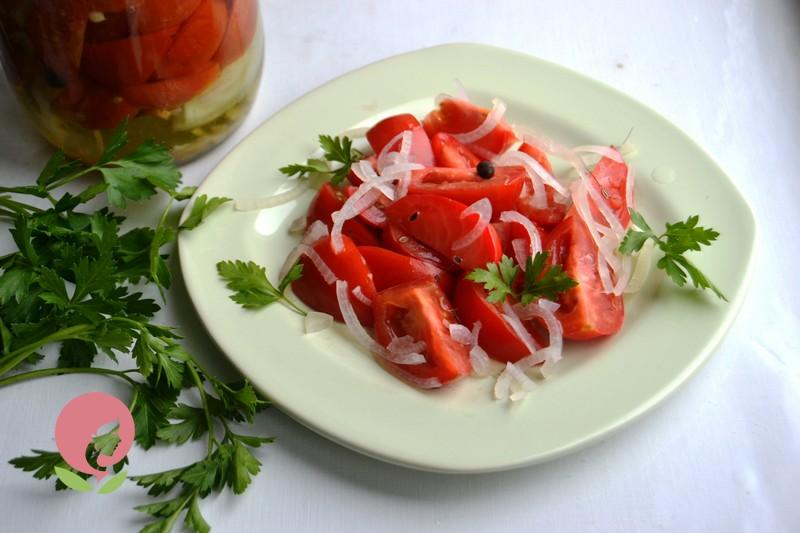 салат из помидоров на зиму рецепт в домашних условиях