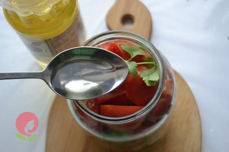 салат из помидоров на зиму рецепт