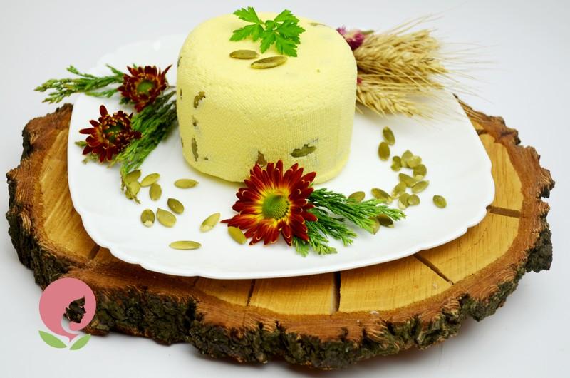 Домашний сыр с тыквенными семенами: рецепт с фото в домашних условиях
