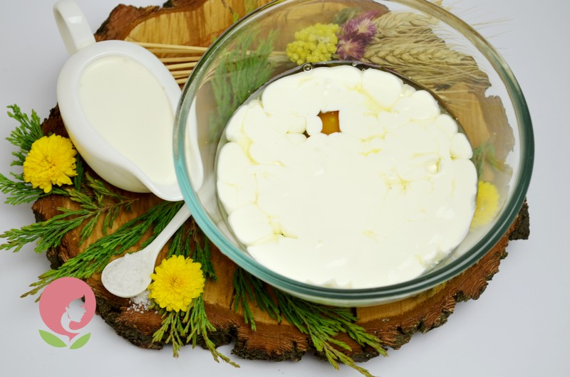 домашний сыр с тыквенными семечками