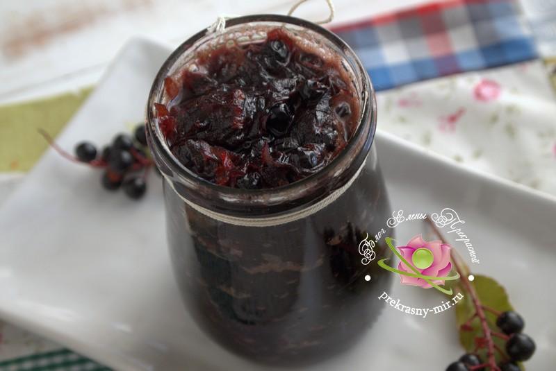 джем из тыквы и черемухи на зиму рецепт с фото в домашних условиях