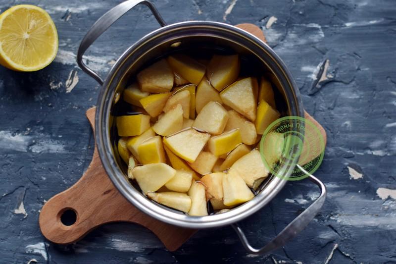 пюре из айвы и яблок рецепт с фото