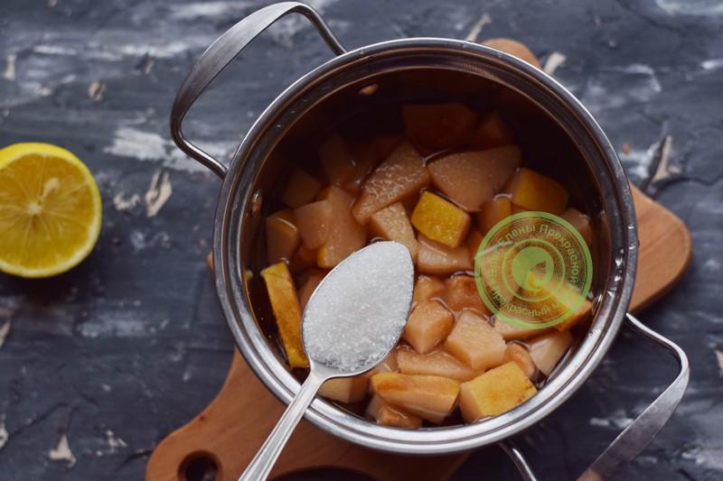 пюре из айвы и яблок рецепт