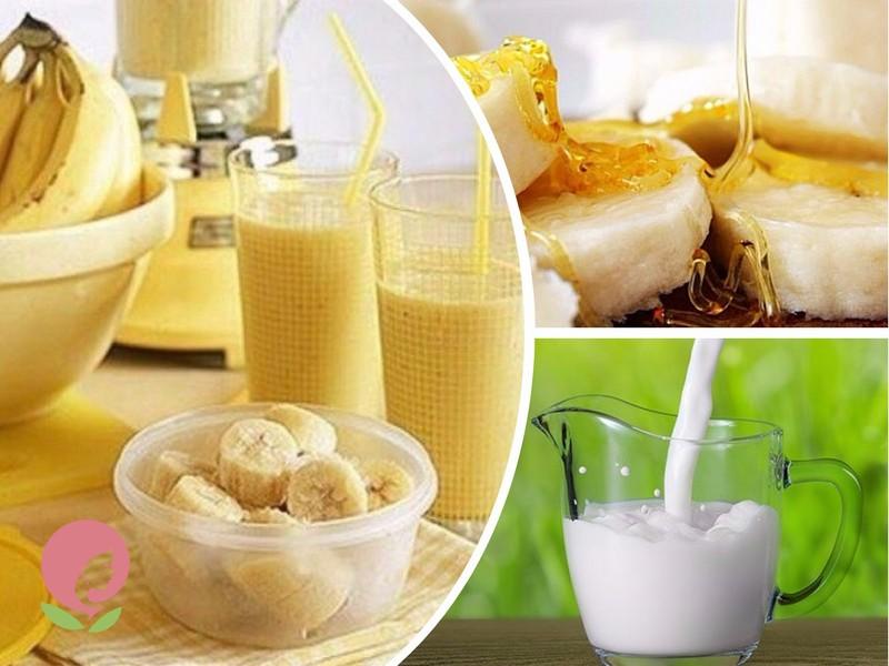 средство от кашля с бананом и молоком