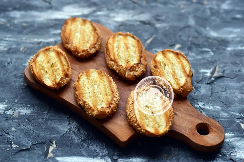 брускетта с печенью трески рецепт на праздничный стол