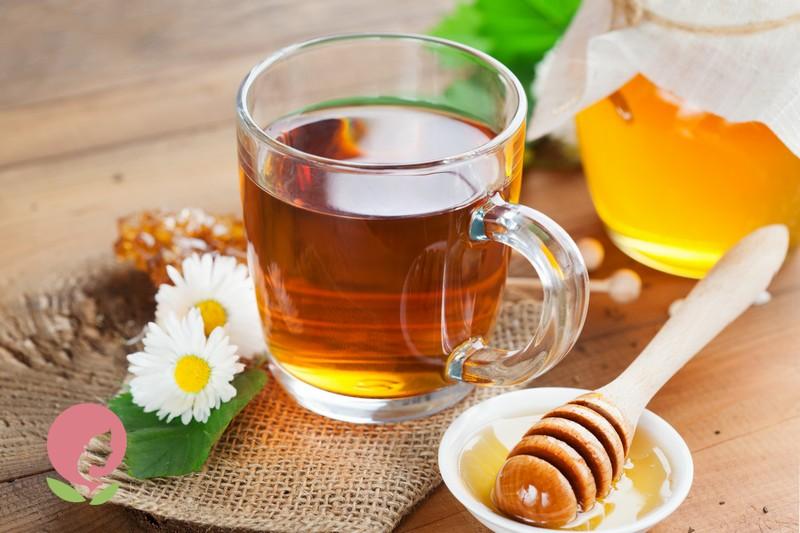 ромашка с медом при простуде