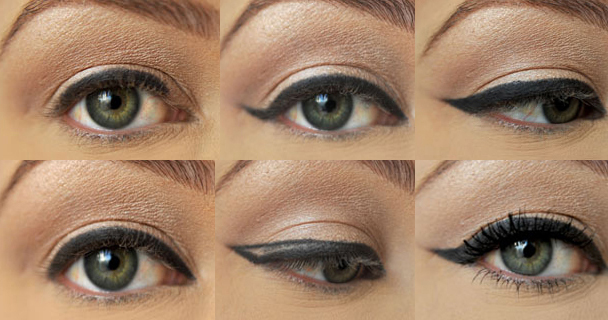 стрелки на глаза