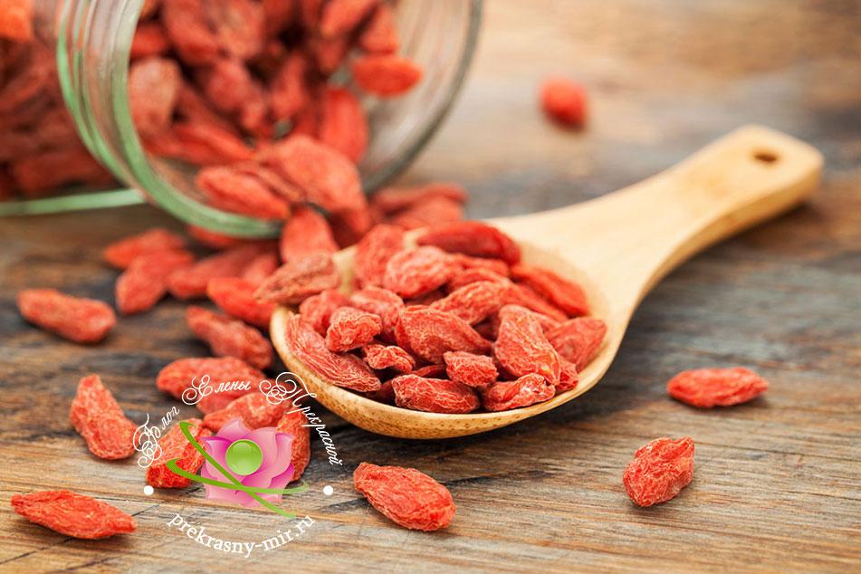 ягоды годжи польза и вред