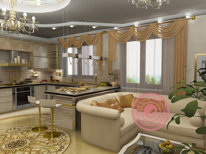 Гостиная по фен шуй: интерьер зала, цвета, картины, цветы, мебель
