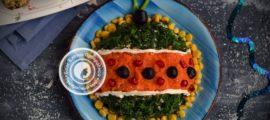 салат Оливье с курицей рецепт на Новый год