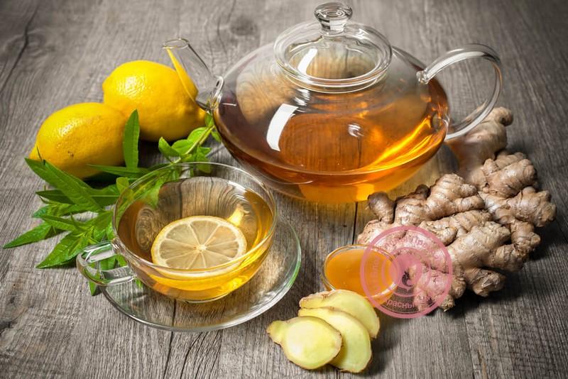 чай с имбирем и лимоном рецепт от простуды рецепт приготовления в домашних условиях