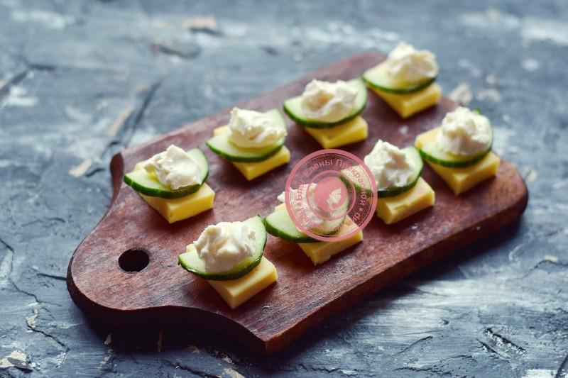 канапе с мидиями и оливками на шпажках рецепт с фото