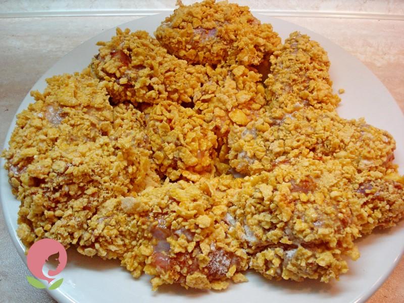 крылышки KFC рецепт в домашних условиях