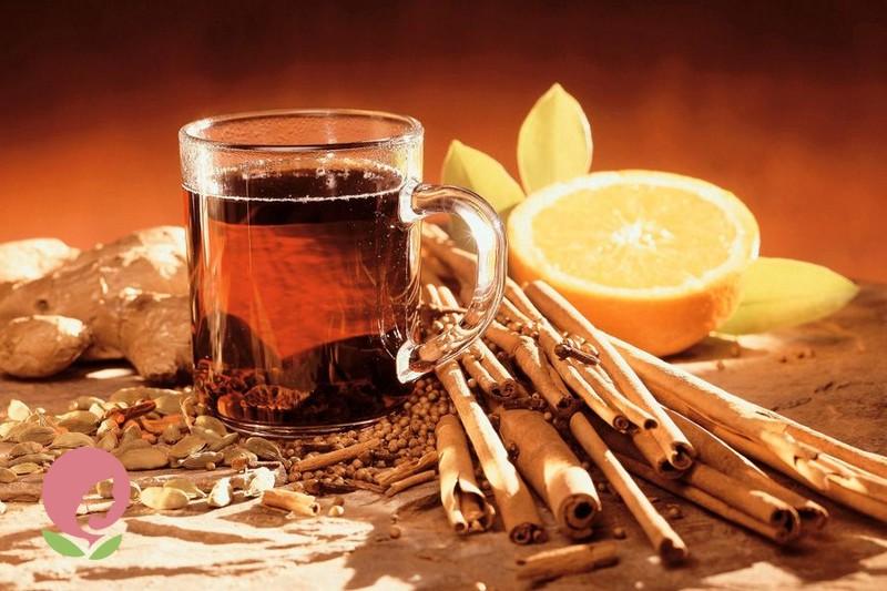 Чай с корицей и медом для лечения простуды