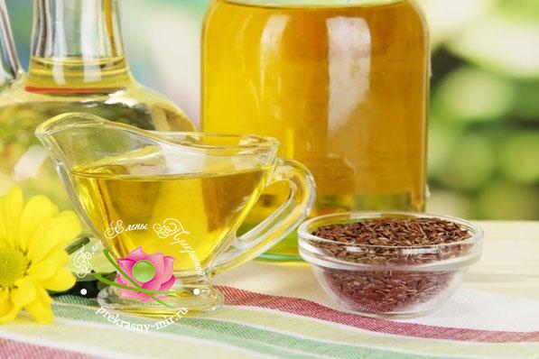 лечебные свойства льняного масла