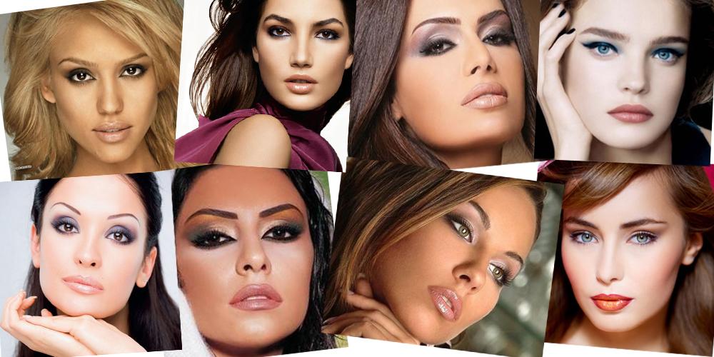 макияж близко посаженных глаз