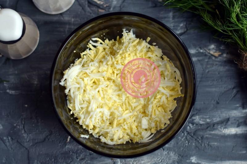 холодная закуска Мандаринки рецепт