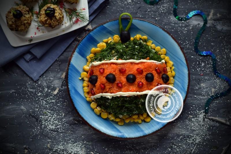 Новогодний салат Оливье с курицей: фото рецепт на Новый год