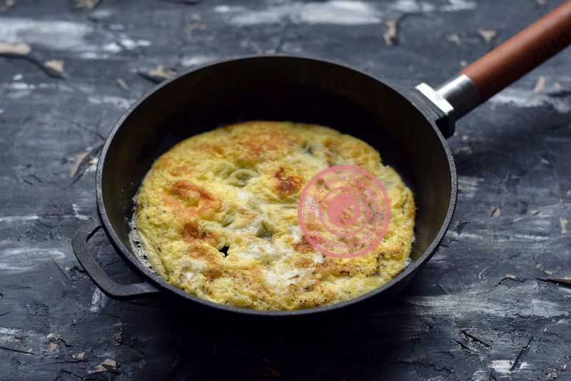 салат с яичными блинчиками рецепт на новый год
