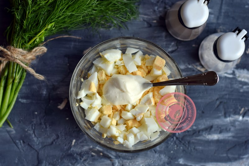 салат с крабовыми палочками и овощами рецепт