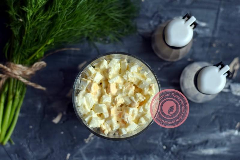 салат с крабовыми палочками и овощами рецепт на новый год