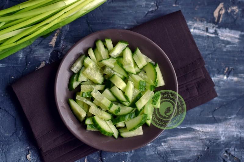 слоеный салат с ветчиной рецепт с фото