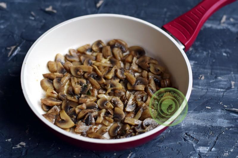 рецепты вкусных салатов с ветчиной шампиньонами