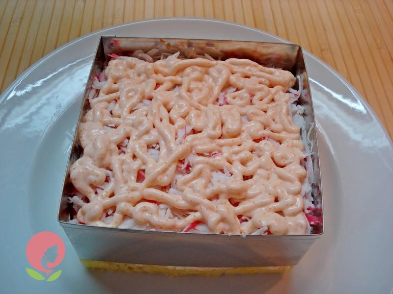 салат торт рецепт с фото