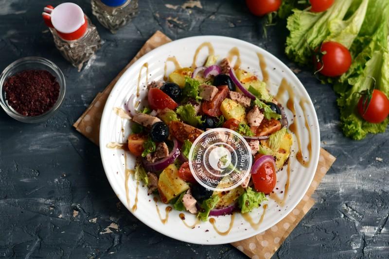салат с печенью трески рецепт на праздничный стол