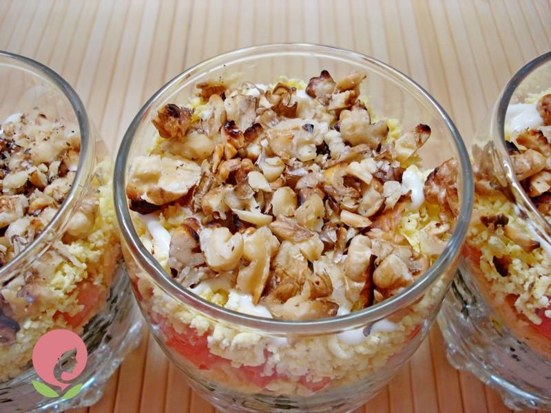 порционный салат рецепт на новый год
