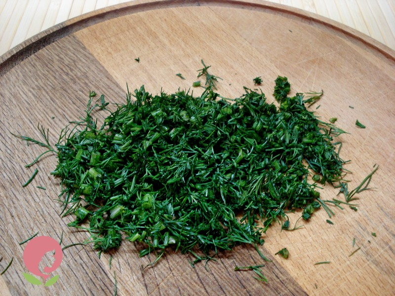порционный салат