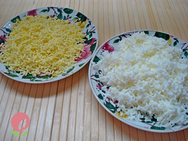 порционный салат рецепт в домашних условиях