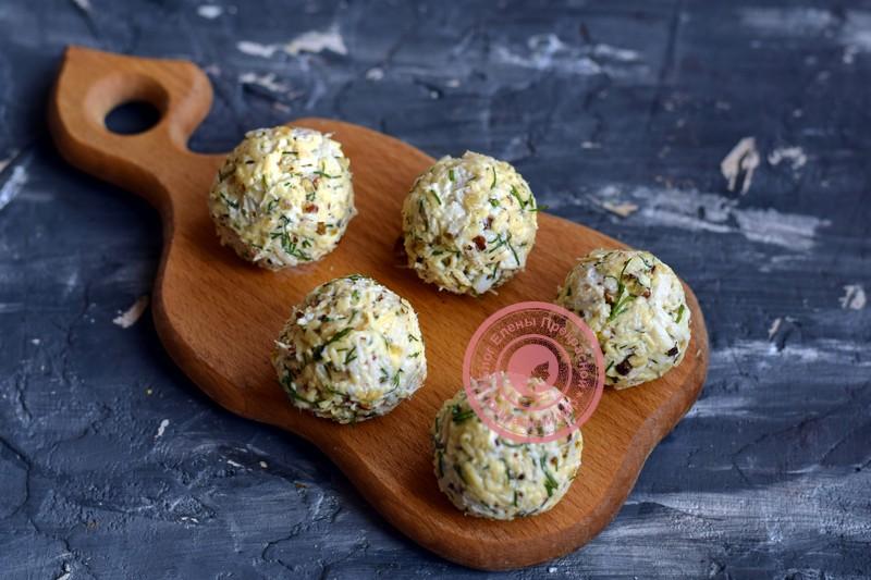 закуска елочные шары рецепт на праздничный стол