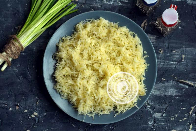 Оригинальный салат сельдь под шубой рецепт