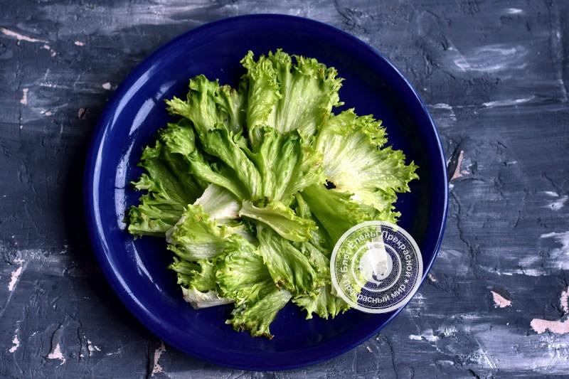 Теплый салат с говядиной, грибами и гранатом рецепт на новый год