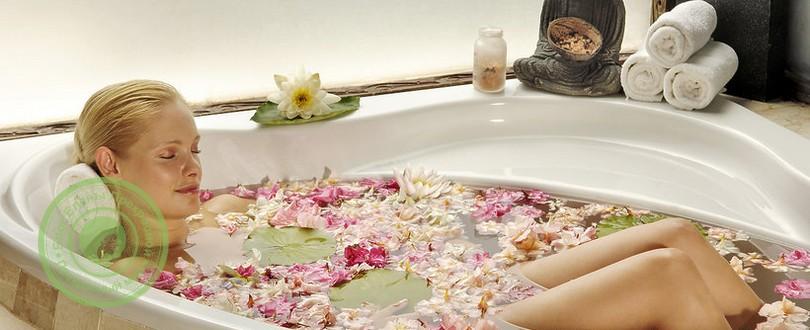 Ванна при простуде и гриппе: прогревание при кашле солью, баня