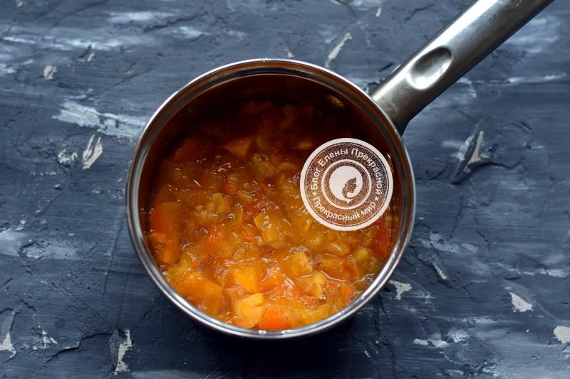 варенье из хурмы с апельсином рецепт в домашних условиях