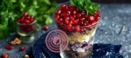 порционный салат рецепт на праздничный стол
