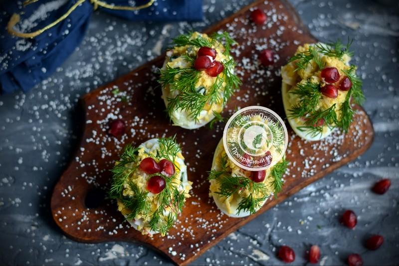 салат Новогодние елочки рецепт на праздничный стол