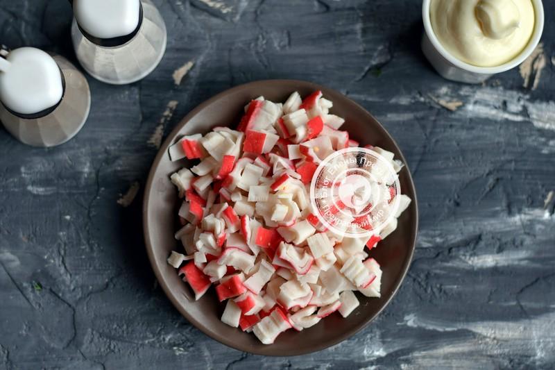 салат Новогодние елочки рецепт