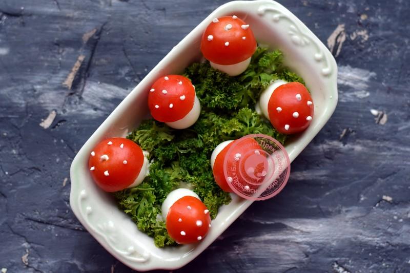закуска грибочки мухоморы рецепт на праздничный стол