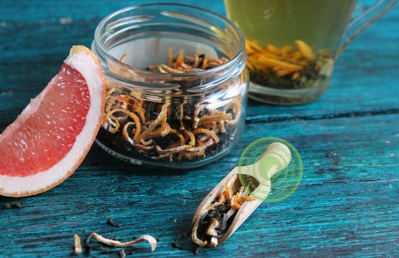 детокс чай с грейпфрутом рецепт в домашних условиях