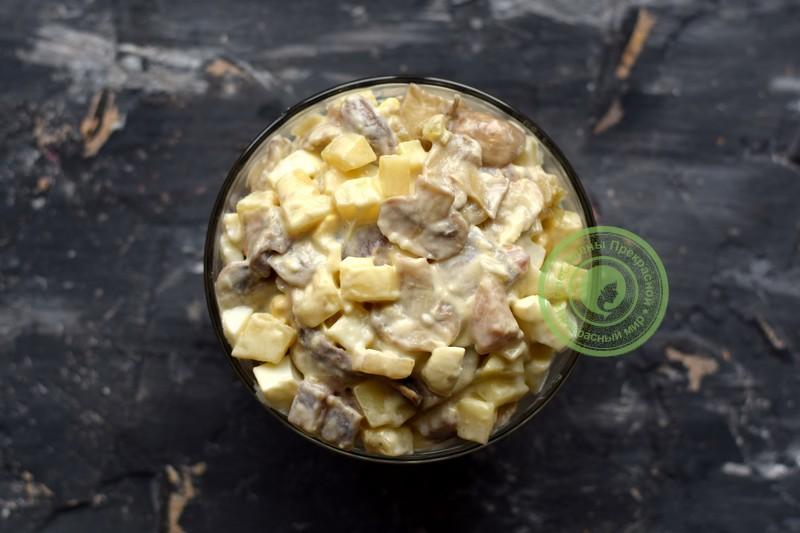 салат лисья шубка рецепт на праздничный стол