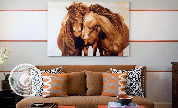Картины с лошадьми по фен шуй