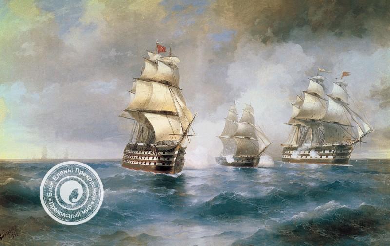 картина с морем